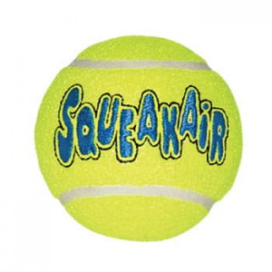 KONG AIR SQUEAKER BALL - 3SZTUKI