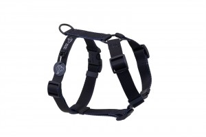 szelki typu guard Classic Black Warsaw Dog